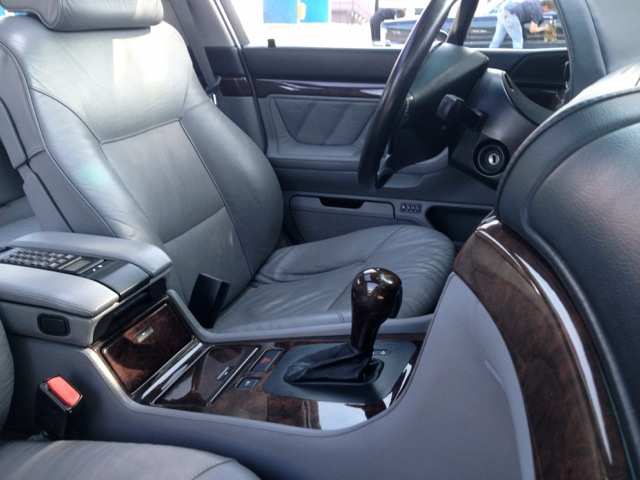 BMW 750i E38 Interieur