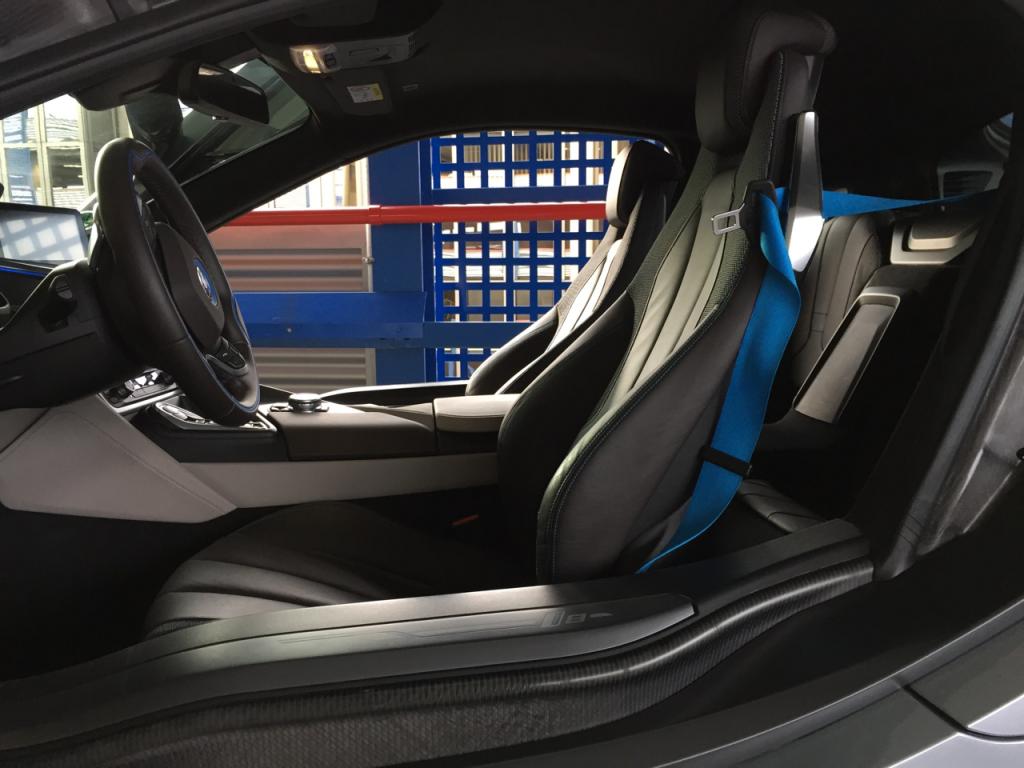 BMW i8 Innenraum