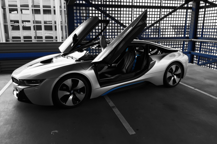 Der BMW i8