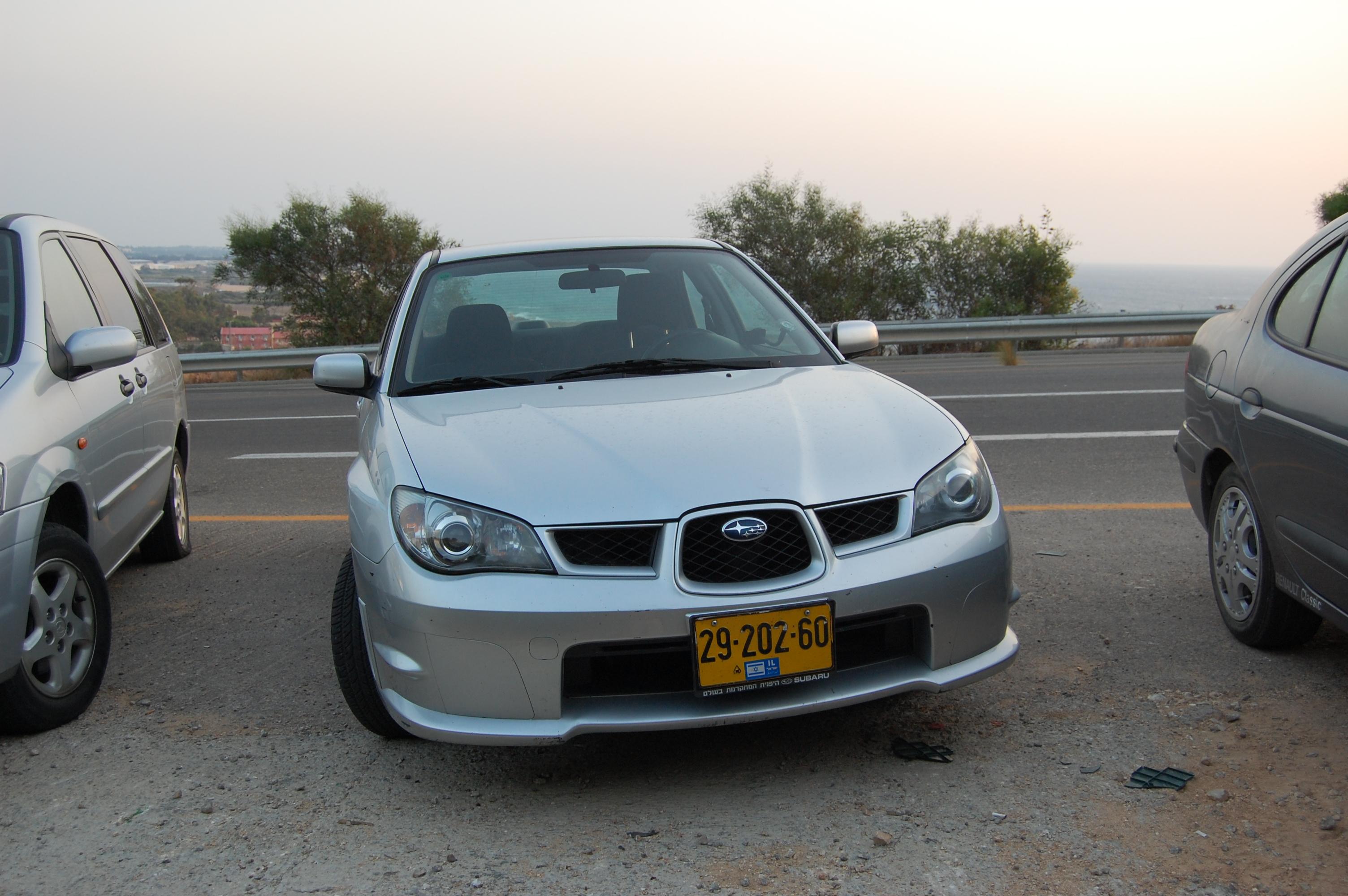 2007 Subaru Imprezza 1.6