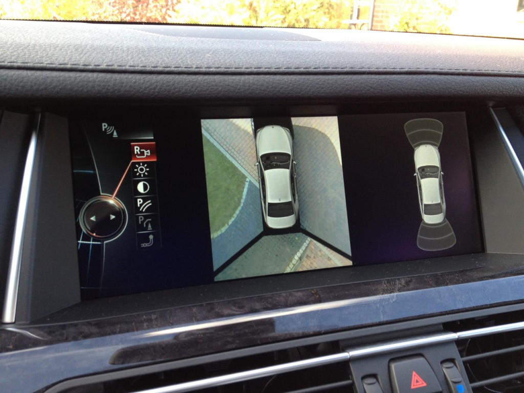 BMW 7er F01 Surround View